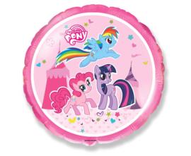 My Little Pony folieballon Circus Pink ø 45 cm.