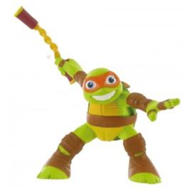 Ninja Turtles Michelangelo taart topper 9 cm.