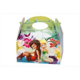 Disney Tinkerbell party box 16 x 10 x 16 cm.