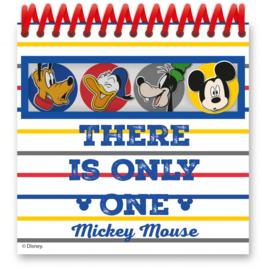 Disney Mickey Mouse notitieboekjes 3D 4 st.