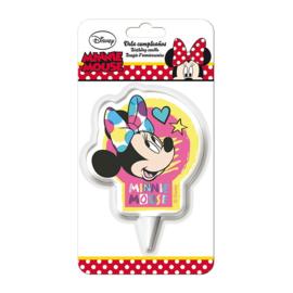 Disney Minnie Mouse verjaardag taart kaars 7 cm.
