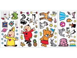 Bumba muurstickers Roommates 52 stickers