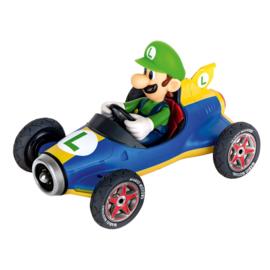 Super Mario Bros - Luigi taart topper race auto Classic 5 cm.