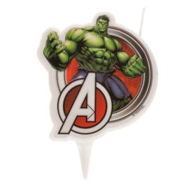 Avengers Hulk taart kaars 2D