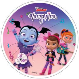 Disney Vampirina ouwel taart decoratie ø 21 cm. A