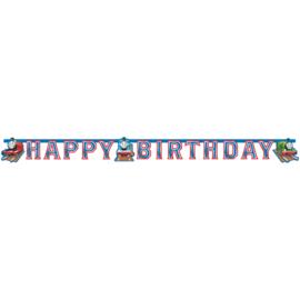 Thomas de Trein slinger happy birthday 1,8 mtr.