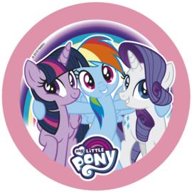 My Little Pony taart frosting ø 21 cm. B