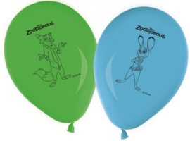 Disney Zootropolis ballonnen 8 st.