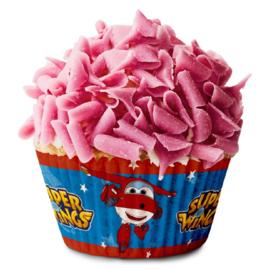 Super Wings cupcake vormpjes 50 st.