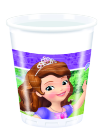Disney Sofia The First Mystic Isles bekertjes 20 cl. 8 st.