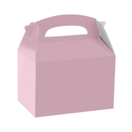 Party box baby roze 12 x 10 x 15 cm.