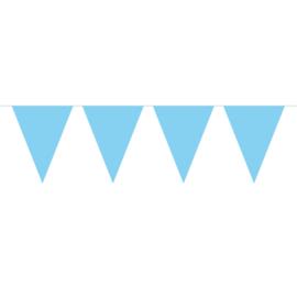Vlaggenlijn licht blauw 10 mtr.