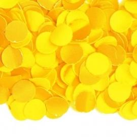 Luxe confetti geel 100 gr.