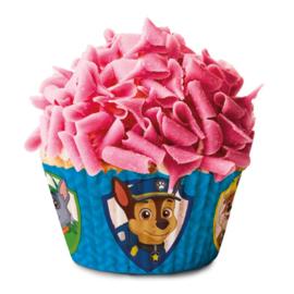 Paw Patrol taart en cupcakes