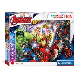 Avengers puzzel Brillant 104 stukjes