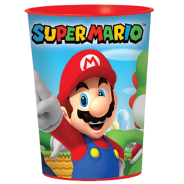 Super Mario Bros plastic drinkbeker 473 ml.