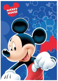 Disney Mickey Mouse fleecedeken 100 x 140 cm.