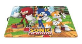 Sonic The Hedgehog placemat 41,5 x 29,5 cm.