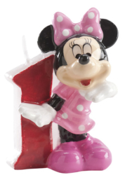 Disney Minnie Mouse Clubhouse 1e verjaardagskaars 3D