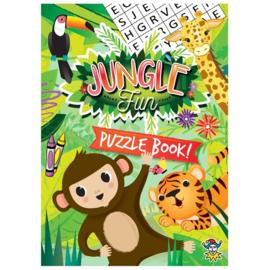 Jungle mini puzzel boekje (engelstalig)
