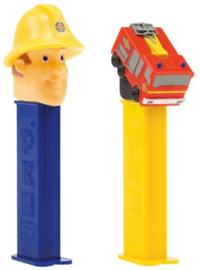 Brandweerman Sam PEZ snoep p/stuk