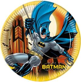 Batman bordjes ø 23 cm. 8 st.