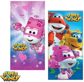 Super Wings bad strand handdoek 70 x 140 cm.