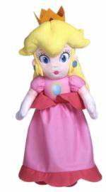 Super Mario Bros pluche knuffel Peach 35 cm.