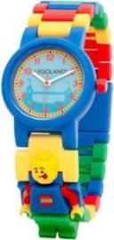 Lego horloge Classic blauw