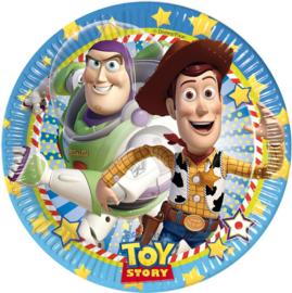 Disney Toy Story bordjes Star Power ø 23 cm. 8 st.