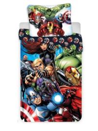 Avengers dekbedovertrek 140 x 200 cm.