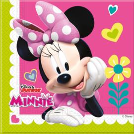 Disney Minnie Mouse Happy Helpers servetten 33 x 33 cm. 20 st.