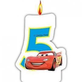 Disney Cars 5e verjaardagskaars