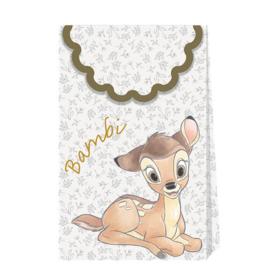 Disney Bambi traktatiezakjes papier 6 st.
