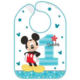 Disney Mickey Mouse 1e verjaardag slab