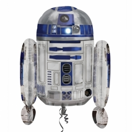 Star Wars R2D2 folieballon XL 55 x 66 cm.