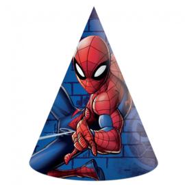 Spiderman Team Up feesthoedjes 6 st.