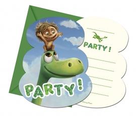 Disney The Good Dinosaur uitnodigingen 6 st.