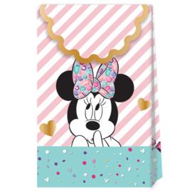 Disney Minnie Mouse Party Gem traktatie zakjes 6 st.