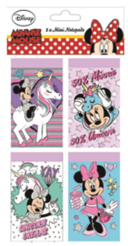 Disney Minnie Mouse Unicorn uitdeel notitieboekjes 8 st.
