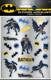 Batman stickervel 4 st.