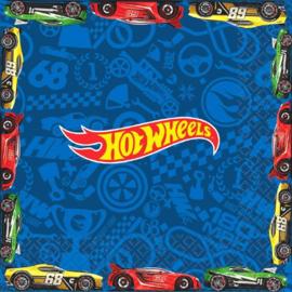Hot Wheels servetten 33 x 33 cm. 16 st.