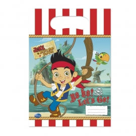 Disney Jake en de Nooitgedachtland piraten traktatiezakjes 6 st.