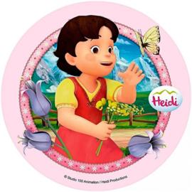 Heidi taart decoratie