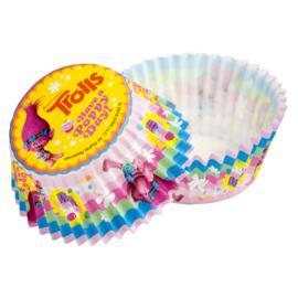 Trolls cupcake vormpjes Have a Poppy Day! 50 st.