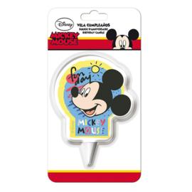Disney Mickey Mouse Fun Day verjaardag taart kaars 7 cm.