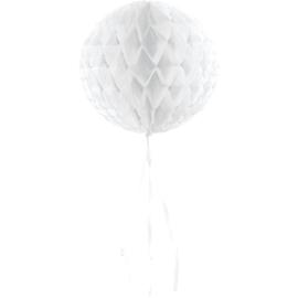 Honeycomb bal wit ø 30 cm.