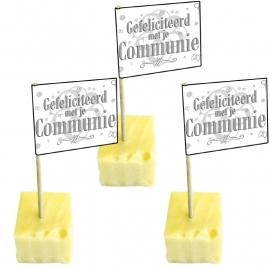 Prikkertjes Gefeliciteerd met je Communie 50 st.