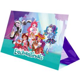 Enchantimals uitnodigingen 8 st.