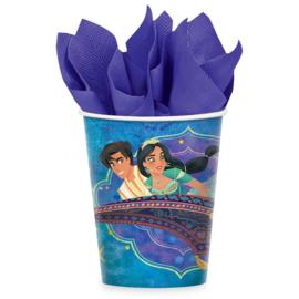 Disney Aladdin bekertjes 8 st.